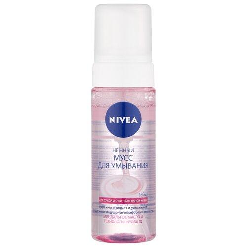 Nivea мусс для умывания Нежный, 150 мл nivea нежный крем гель для умывания