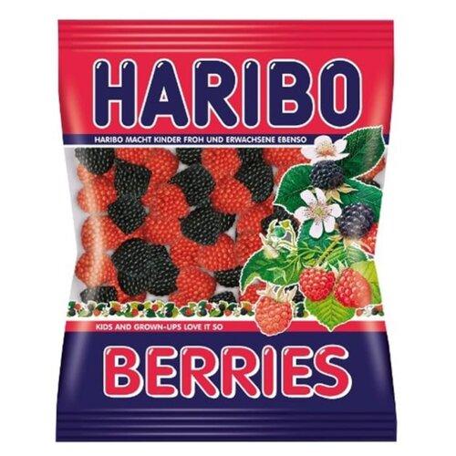 сладкая сказка фру фру фрукты ягоды мармелад жевательный 720 г 24 шт Жевательный мармелад Haribo Ягоды 80 г