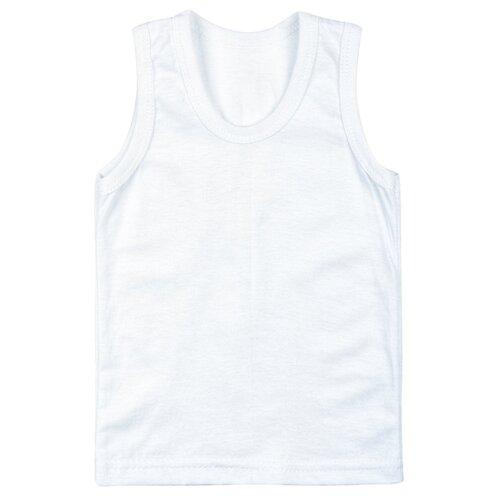 Купить Майка M&D размер 122, белый, Белье и пляжная мода