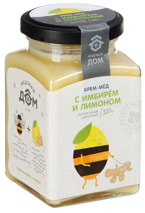 Крем-мед Медовый дом с имбирем и лимоном