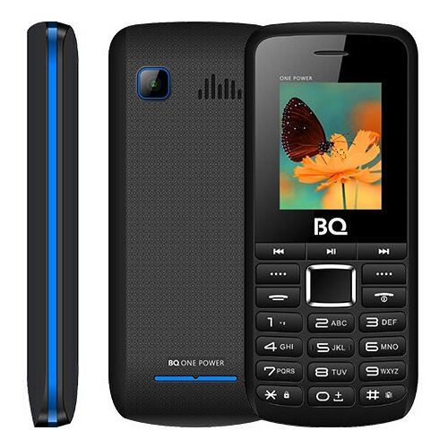 Телефон BQ 1846 One Power, черный/синий недорого