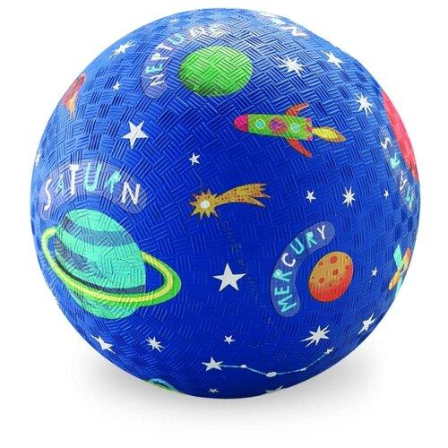 Купить Мяч Crocodile Creek Солнечная система синий, Мячи и прыгуны