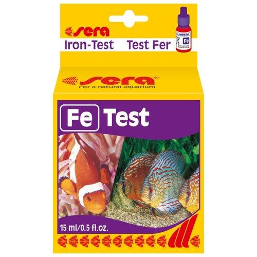 Sera Fe-Test тесты для аквариумной воды кондиционер для воды sera toxivec 100мл