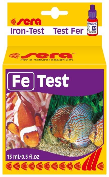Sera Fe Test тесты для аквариумной воды
