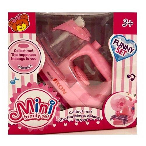 Купить Утюг Shantou Gepai 788-3 розовый, Детские кухни и бытовая техника