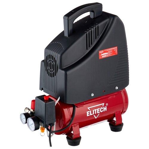 цена на Компрессор безмасляный ELITECH КПБ 190/6, 6 л, 1.1 кВт
