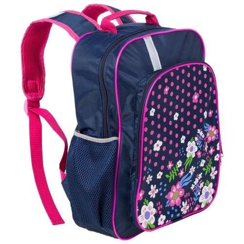 №1 School Рюкзак Цветочная фантазия, синий