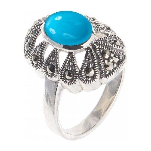 Фото - МАРКАЗИТ Кольцо с хризопразами и марказитами из серебра HR140, размер 18 марказит кольцо с хризопразами и марказитами из серебра hr1229 размер 18