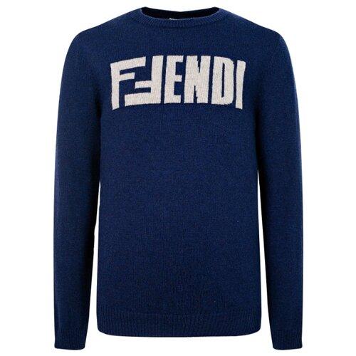 Джемпер FENDI размер 140, синий футболка fendi размер 140 синий