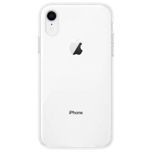 Купить Чехол Gurdini для Apple iPhone Xr (силикон плотный прозрачный) бесцветный