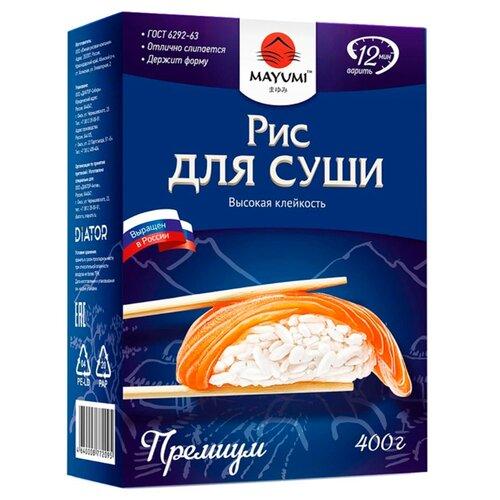 Рис MAYUMI Краснодар для суши, 400 г салерм косметика для волос официальный сайт краснодар