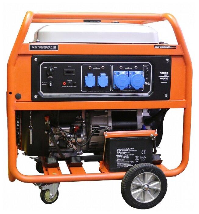 Бензиновый генератор ZONGSHEN PB 18000 E (15000 Вт)