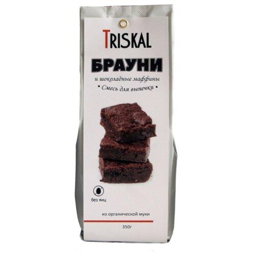 цена на Triskal Смесь для выпечки Брауни и шоколадные маффины, 0.35 кг