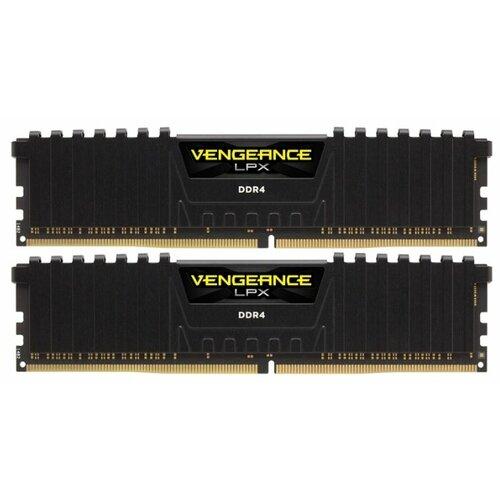 Оперативная память Corsair Vengeance LPX DDR4 3600 (PC 28800) DIMM 288 pin, 8 ГБ 2 шт. 1.35 В, CL 18, CMK16GX4M2B3600C18