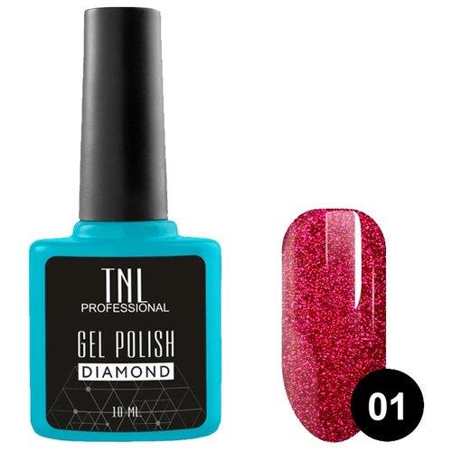 Купить Гель-лак для ногтей TNL Professional Diamond, 10 мл, №01 Алмаз