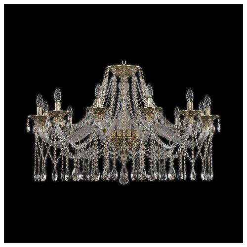 Фото - Люстра Bohemia Ivele Crystal Ivele Crystal 16113/12/360 G, E14, 480 Вт люстра bohemia ivele crystal 7201 72301 12 360 b g e14