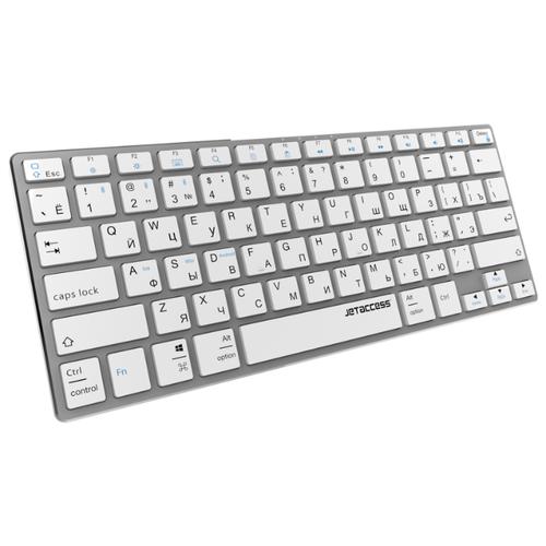 Ультратонкая bluetooth-клавиатура с аккумулятором SLIM LINE K2 BT металлик