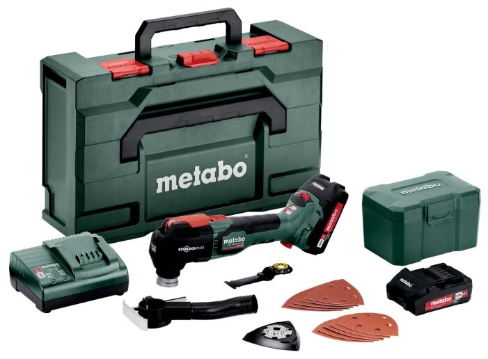 Реноватор Metabo MT 18 LTX BL QSL 2x LiHD 4,0 Ач, кейс
