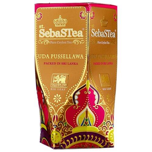 Чай черный SebaSTea Uda pussellawa, 100 г чай листовой зеленый sebastea chinesse dragon 100 г