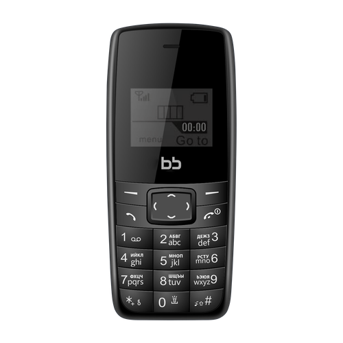 Фото - Телефон BB 1 черный (BB-BP-11) bb