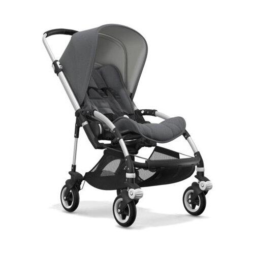 Прогулочная коляска Bugaboo Bee⁵ Alu/Grey melange/Grey melange, цвет шасси: серебристый прогулочная коляска quinny zapp flex plus luxe sport grey