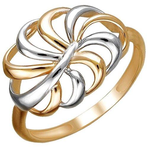 Эстет Кольцо из красного золота 01К0112185Р, размер 17 ЭСТЕТ