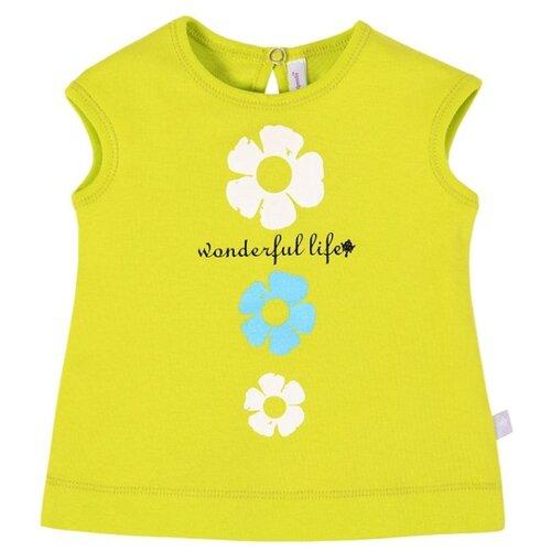 Купить Майка Мамуляндия размер 74, лимонный, Футболки и рубашки