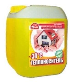 Теплоноситель этиленгликоль Комфортный дом -30