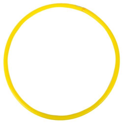 Гимнастический обруч СТРОМ У 635 80 см желтый