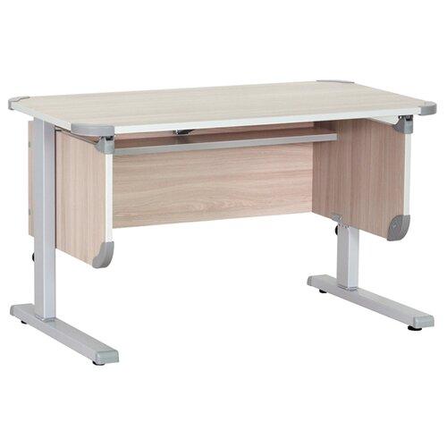Стол ДЭМИ Ученик СУТ-28 90x50 см ясень/серый, Парты и столы  - купить со скидкой