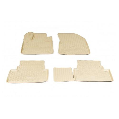 Комплект ковриков NorPlast NPA11-C64-320 4 шт. бежевый