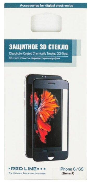 Защитное стекло Red Line 3D для Apple iPhone 6/6S