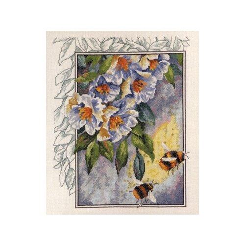 Купить Набор для вышивания Пчелы в цветах 47 x 40 см 70-4181, Permin, Наборы для вышивания