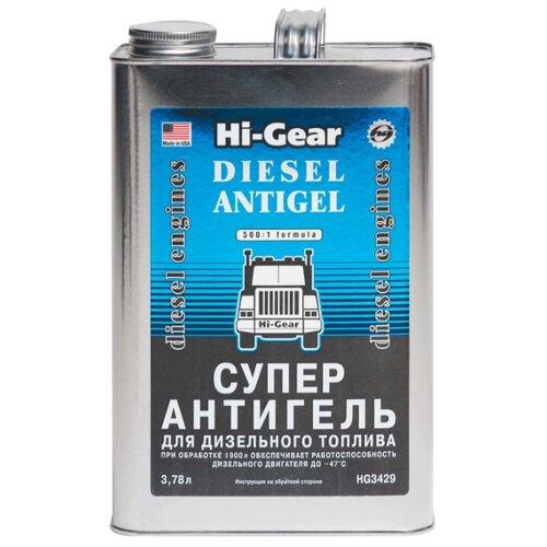 Hi-Gear Суперантигель для дизельного топлива Diesel Antigel 3.78 л