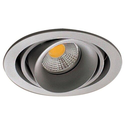 Встраиваемый светильник Donolux Lumme DL18615/01WW-R Silver Grey/Black встраиваемый светильник donolux dl132g shampagne gold