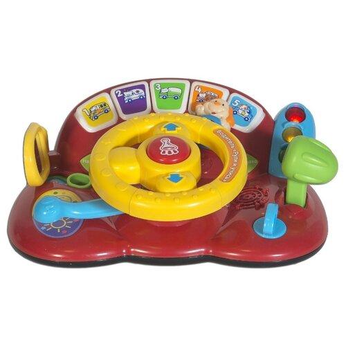 Купить Развивающая игрушка VTech Водитель Рули и учись красный/желтый, Развивающие игрушки