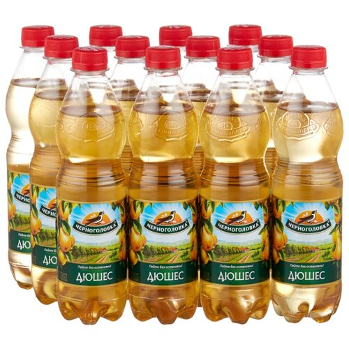 лимонад напитки из черноголовки крюшон 6 шт по 1 л Газированный напиток Черноголовка Дюшес, 0.5 л, 12 шт.