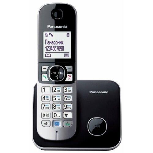 Купить Радиотелефон Panasonic KX-TG6811 черный