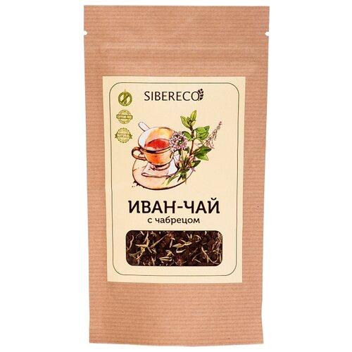 Чай травяной Sibereco Иван-чай с чабрецом, 50 г чай травяной родной иван чай с чабрецом душистый в пакетиках 25 шт