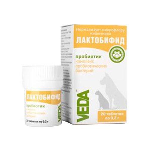 Лактобифид таблетки уп. 20 шт VEDAВетеринарные препараты<br>