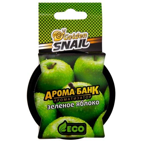 Golden Snail Ароматизатор для автомобиля GS6509, Зеленое яблоко 30 г