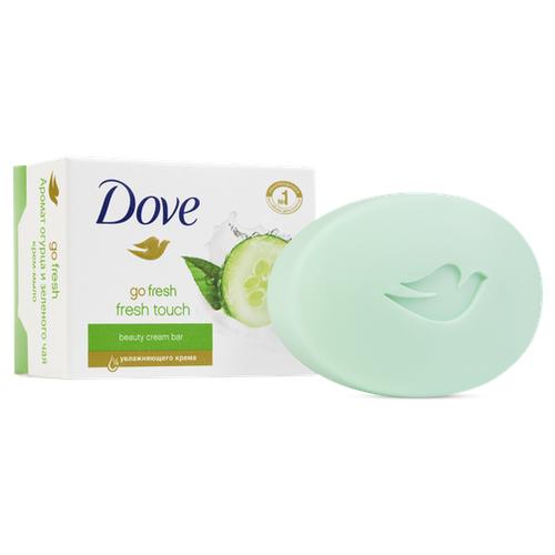 Крем-мыло кусковое Dove Прикосновение свежести, 100 г мыло dove dove do032lwzkf76