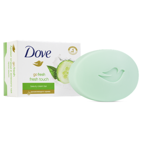 Крем-мыло кусковое Dove Прикосновение свежести, 100 г