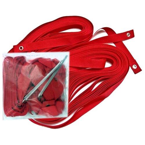 Комплект для разметки площадки для пляжного волейбола Made in Russia FS-R-№02, красный