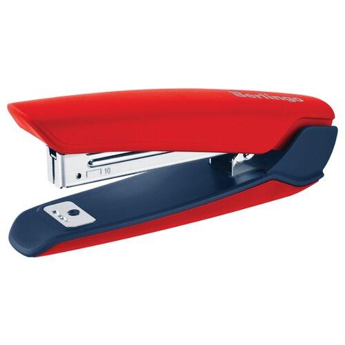 Купить Berlingo Степлер Hyper для скоб №10 красный, Степлеры, скобы, антистеплеры