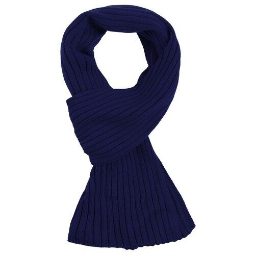 Шарф teplo Stripes, акрил темно-синий