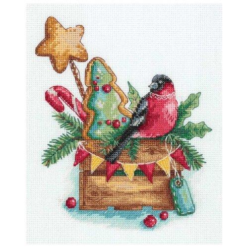 Купить Набор для вышивания PT-7164 Гостинцы от снегиря , PANNA, Наборы для вышивания