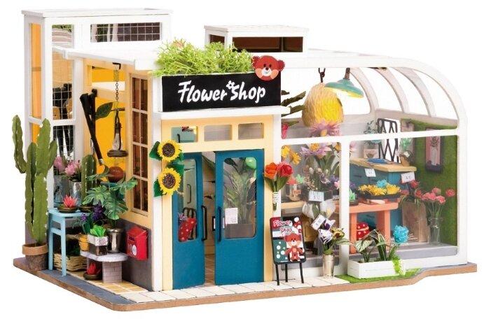 Сборная модель Rolife Румбокс Flower Shop (TD03W)
