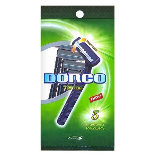 Фото - Бритвенный станок Dorco TD702 ,фиолетовый, 5 шт. бритвенный станок dorco tr a200