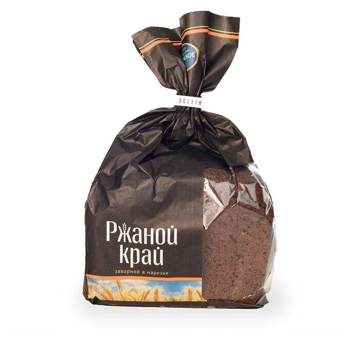 Коломенское Хлеб Ржаной край заварной в нарезке пшенично-ржаный 300 г